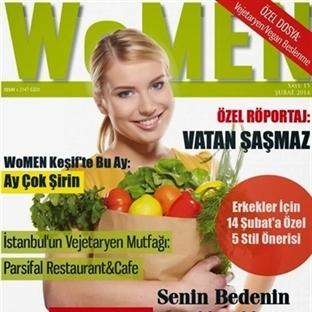 WoMEN Dergisi Şubat 2014