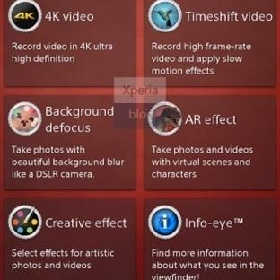 Xperia Z2 'den 4K Video ve TimeShift Video Sızdı !