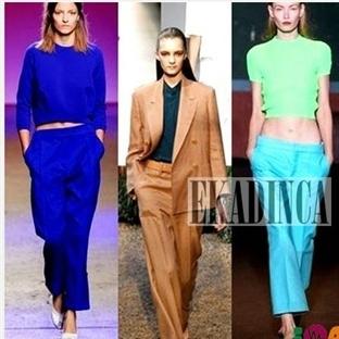 Yazlık Pantolon Modelleri 2014