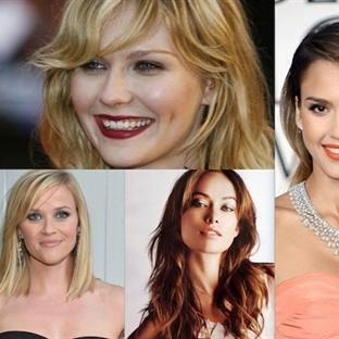 Yüz şekillerine göre ideal saç modelleri