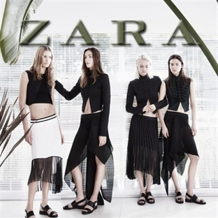 ZARA 2014 İlkbahar Yaz Kampanyası