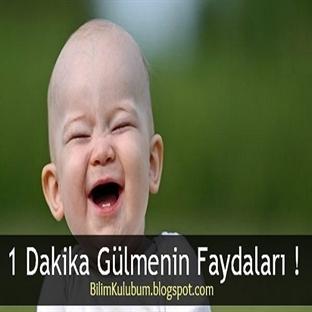 1 Dakika Gülmenin Faydaları !