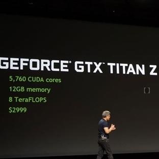 12 GB'lık NVIDIA GTX TITAN Z
