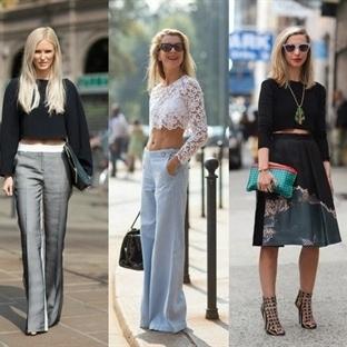 2014 İlkbahar-Yaz Sokak Modası Trendleri