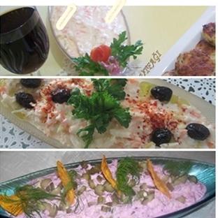 3 Değişik kereviz salatası (rejim yap