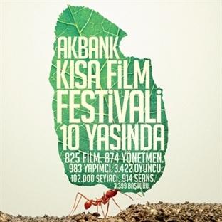 Akbank 10. Kısa Film Festivali Başlıyor!