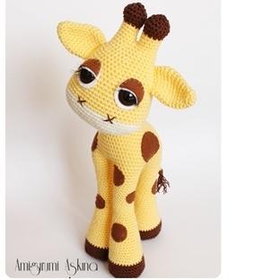 Amigurumi Masum Zürafa