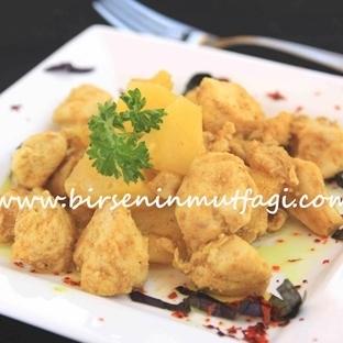 Ananaslı kahveli tavuk
