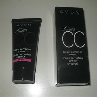 Avon İdeal Flawless CC KREM SPF50 - SHELL
