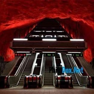 Avrupa'nın en güzel metro istasyonları