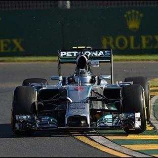 Avustralya'daki Sezon Açılışını Rosberg Yaptı