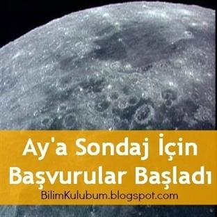 Ay'a Sondaj İçin Başvurular Başladı