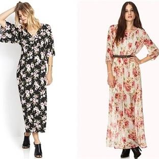 Baharlık Uzun Elbise Modelleri