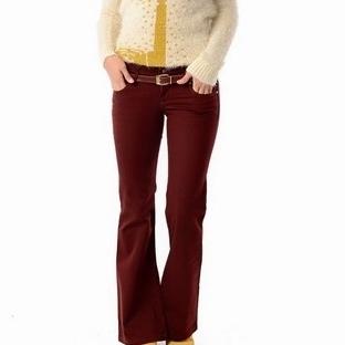 Bayan Dar Pantolon Modelleri 2014