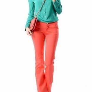 Bayan Kırmızı Pantolon Modelleri