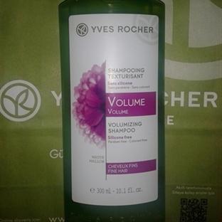 Beğendim: Yves Rocher Volume Şampuan
