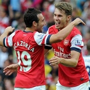 Cazorla, Ramsey ve Zelalem Sözleşme Uzattı