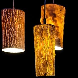 Chari Cohen'den Porselenden Forest Lights Sarkıt