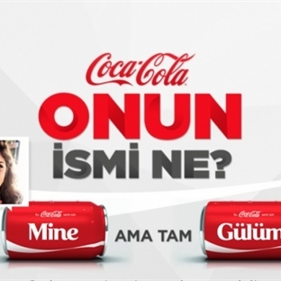 Coca Cola 'dan İnteraktif İsim Oyunu !
