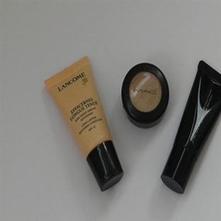 Concealer Karşılaştırması / Lancome & Shiseido & M