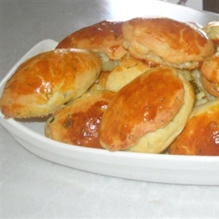 Dereotlu Peynirli Nefis Poğaça Tarifi