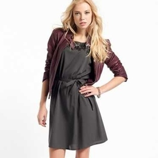 Deri Elbise Modelleri 2014
