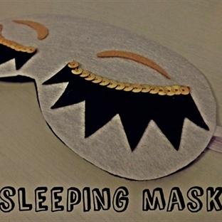 DIY: Uyku Maskesi -Sleeping Mask-