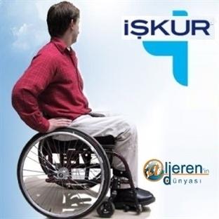 Engelliye İŞKUR'dan büyük fırsat
