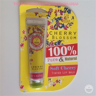 Figs&Rouge Cherry Blossom Renkli Lip Balm