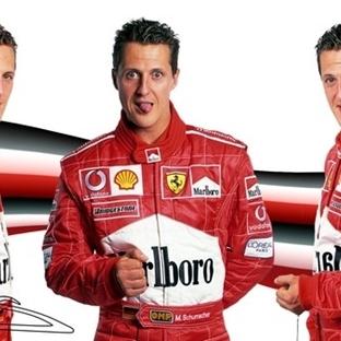 Fotoğraflarla Michael Schumacher