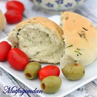Frenk Soganli Sutlu Sandwich Ekmegi