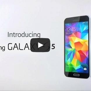 Galaxy S5′in Tüm Özelliklerini İçeren İlk Video Ya