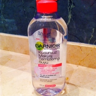 Garnier Kusursuz Makyaj Temizleme Suyu Yorumlarım