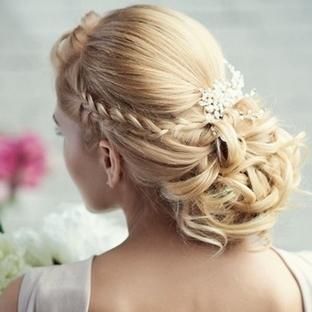 Gelin Başı Saç Modelleri 2014