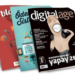 Gerçek Bilim Bu Ay  Digital Age Dergisi'nde
