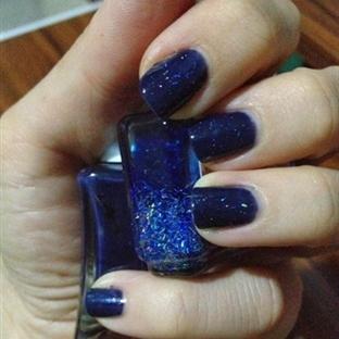 Günün Ojesi - Nirvana & TopCoat H&M Glitter Blue