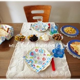 Hafta Sonu Kahvaltı Keyfimiz
