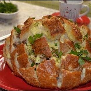 Kaşarlı Ekmek Dolması