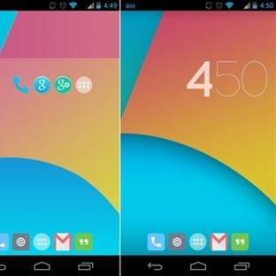 KiTKaT Android Teması