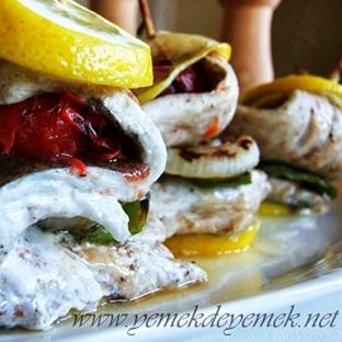 Kıvrımlı Levrek Fileto