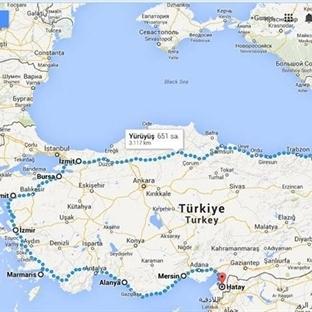 Kıyı Kıyı Anadolu - Yürüyerek Türkiye Seyahati