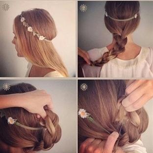 Kolay Saç Modelleri Resimli Anlatım