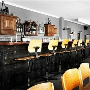 Kopenhag'da Lidkoeb Restaurant Aydınlatma