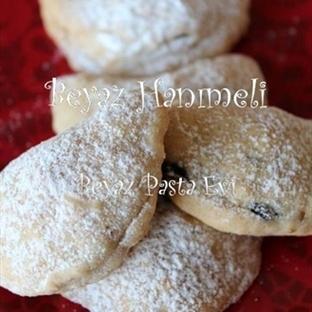 Kremalı ve cevizli kurabiye