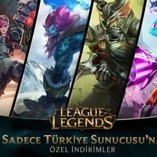 League of Legends Türkiye Sunucusuna Gelen