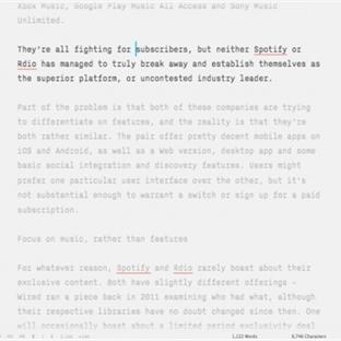MAC için En İyi Kelime İşlem Uygulamaları