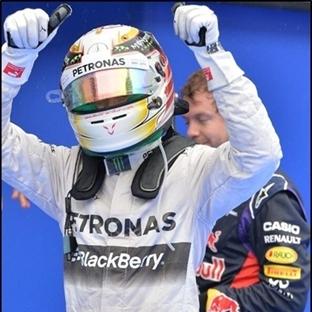Malezya GP'inde Pole Hamilton'un !!