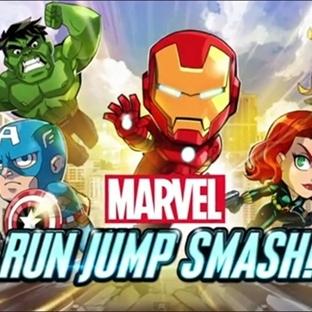 Marvel Run Jump Smash Android Oyunu