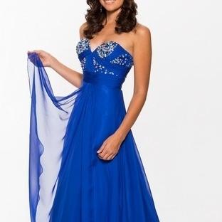 Mavi Abiye Modelleri 2014