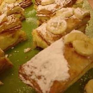Milföylü Muzlu Pasta